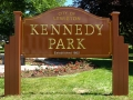 Carved-sign-for-Kennedy-Park-in-Lewiston-Maine_1