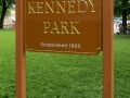Carved-sign-for-Kennedy-Park-in-Lewiston-Maine_2