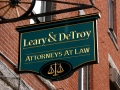 carved-sign-auburn-maine-Leary-Detroy
