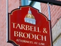 carved-sign-auburn-maine-tarbell-brodich