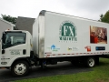 Truck lettering for F X Marcotte Furniture's Portland Store