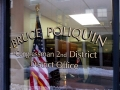 Bruce Poliquin Window