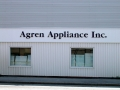 acrylic letters for Agren Appliance of Auburn, Maine