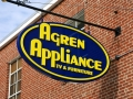 dimensional sign for agren appliance of Auburn, Maine
