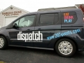 Van Lettering for dispatch Magazine