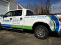 Vinyl graphics on Thayer Corporation truck