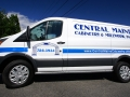 van lettering for central maine cabinetry