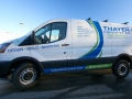 van lettering for thayer corporation